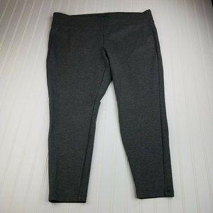 Torrid Plus size 3x Ponte Slim Fit Pull On Pant